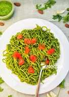 Parsley Pesto Spaghetti