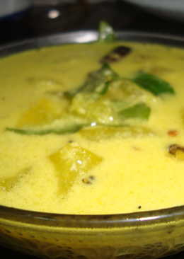 Cucumber Curry in Curd