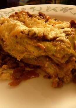 Lasagne Verdi with Ricotta-Parmesan sauce