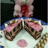 Rosy Ice Zebra Pastry