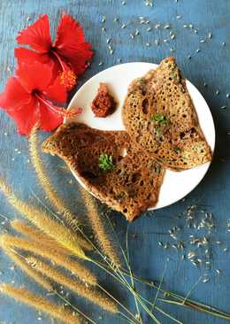 The 'nutritious' ragi (finger millet) dosa