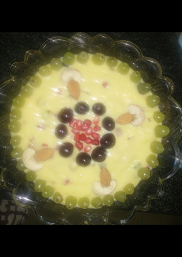 Fruits & Dry fruits Custard