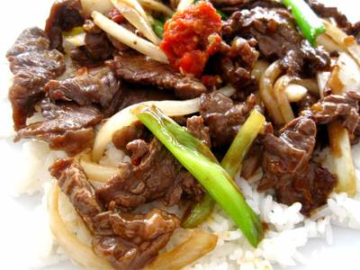 Mongolian Beef for Two