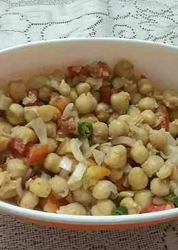 White Chhole Chaat