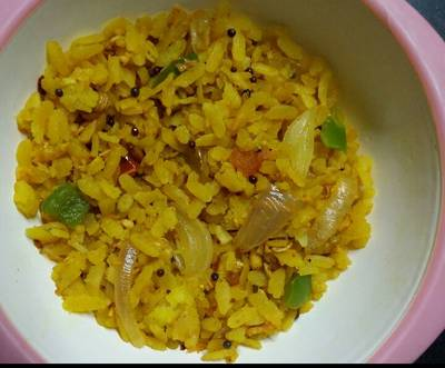 Vegetables Poha