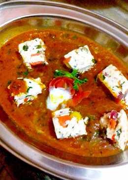 Rainbow paneer curry