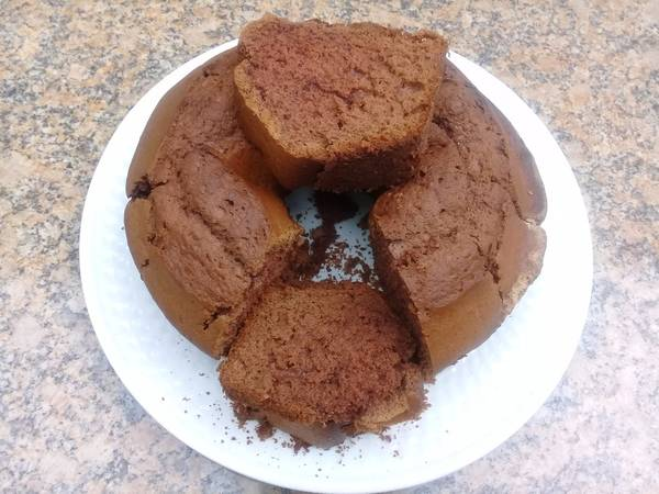 One egg chocolate cake