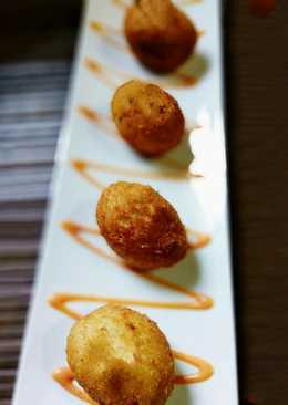 Moong,Yam and Carrot Croquettes