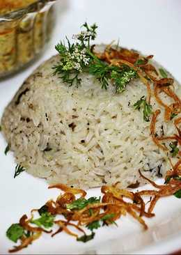 Mutton flavoured rice