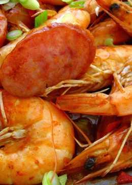 Cajun-Inspired Shrimp & Sausage