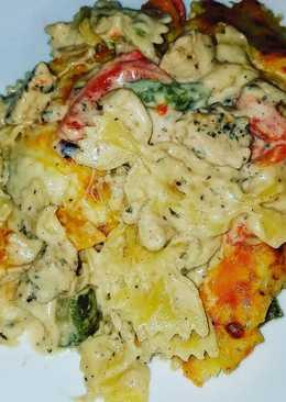 Cajun Chicken Pasta Bake