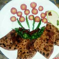 Stuff beetroot paratha