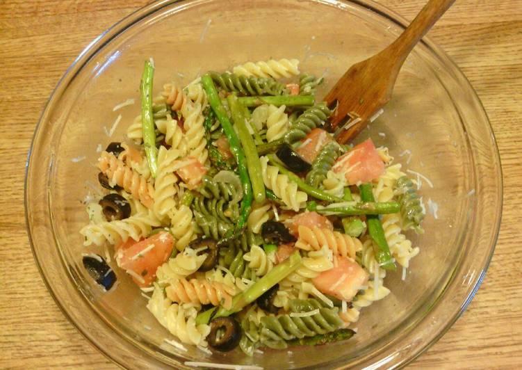 Garden Rotini and Veggie Salad Recipe by jedwards cna - Cookpad