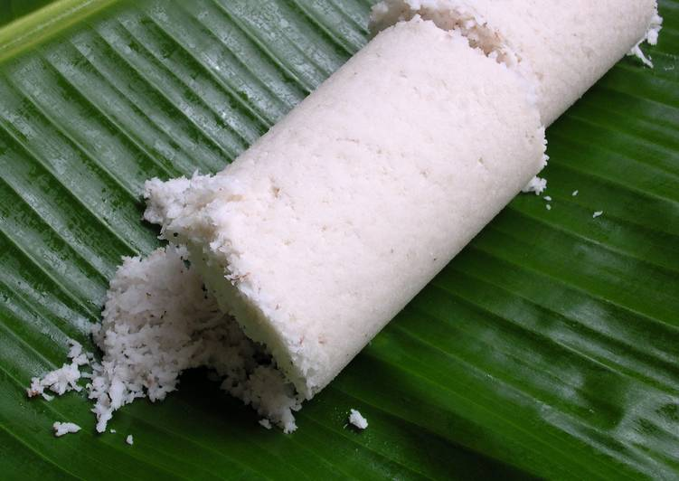 Puttu - Steamed Rice Cake