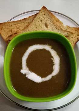 Spinach & tomato soup