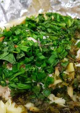 Steamed Chicken in Fresh Coriander and Chinese Celery