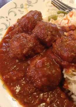 Lamb Koftas in Tomato Gravy