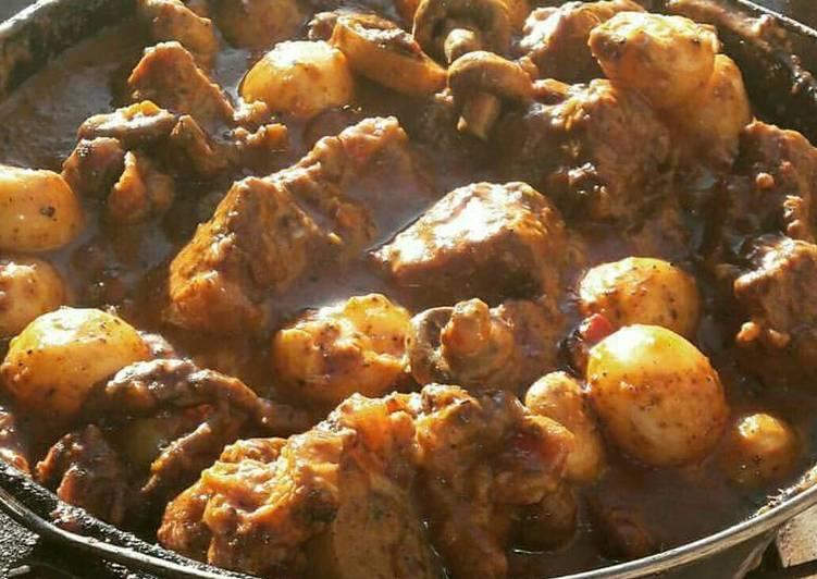 Oxtail Potjie Recipe By Jj Cookpad