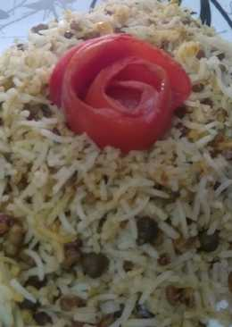 Mixed Sprouts Biryani