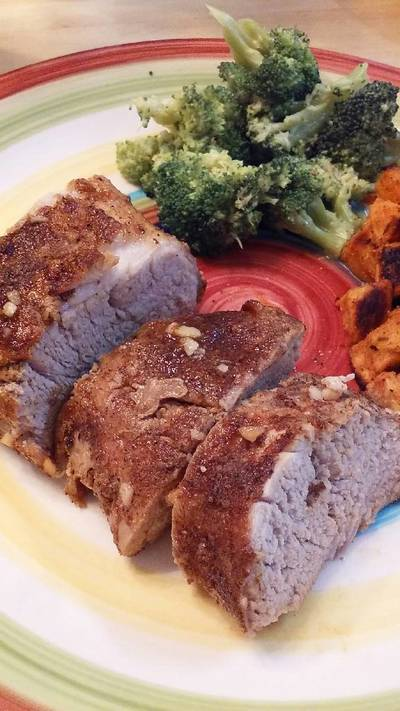 Island Glazed Pork Tenderloin