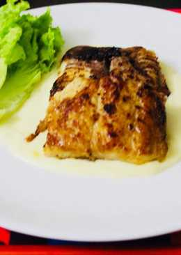 Fish fillet in Mango sauce