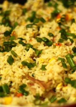 Mixed Fried Rice- The Basic Recipe