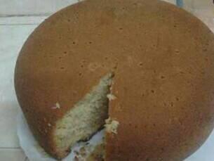 Pressure cooker baked cake