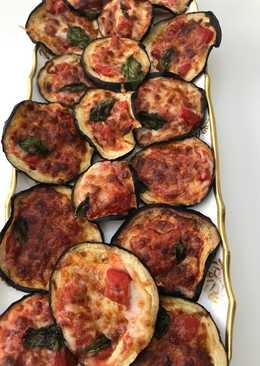 Aubergine pizza style - melanzane alla pizzaiola