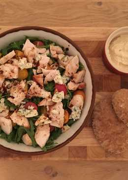 Chicken & Blue Cheese Salad
