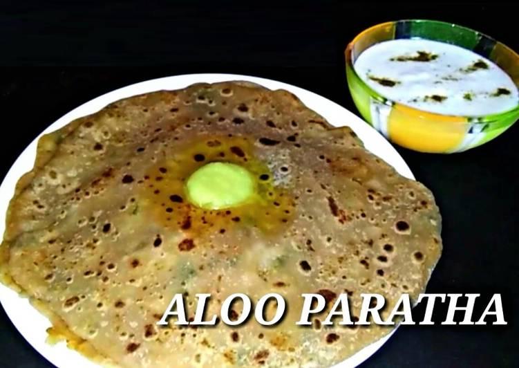 Aloo paratha recipe by poornima j sharma cookpad aloo paratha forumfinder Choice Image