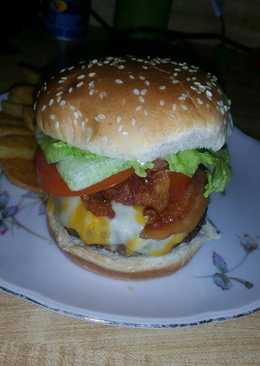 resep masakan american cheeseburger
