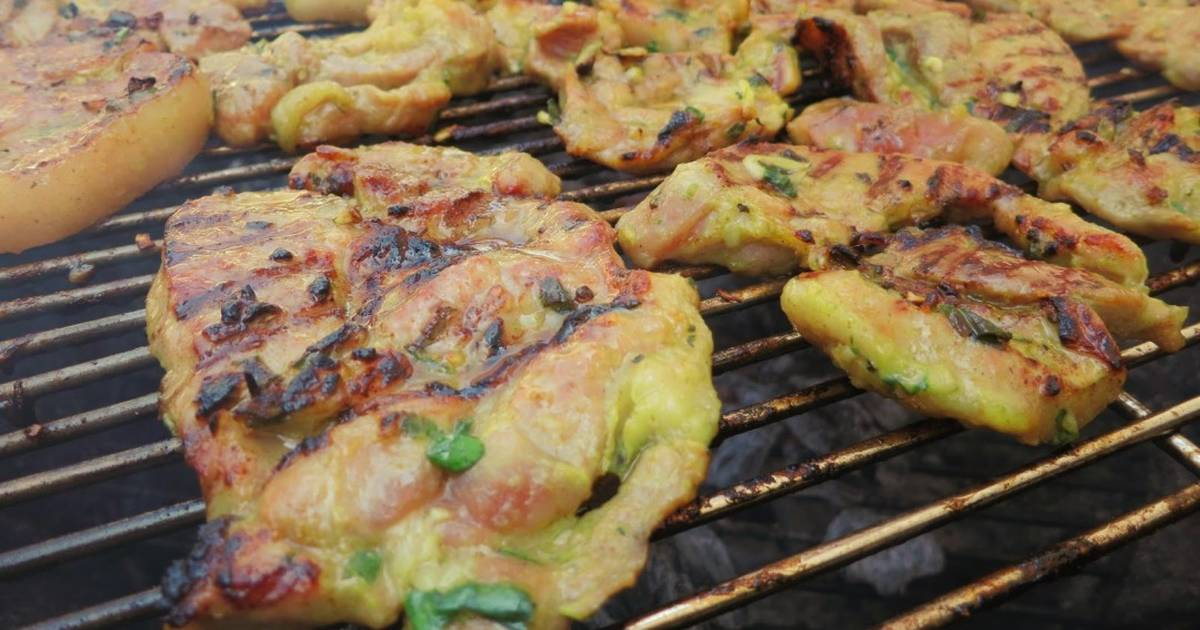 Vietnamese Grilled Pork (Thit Nuong) Recipe by Shinae