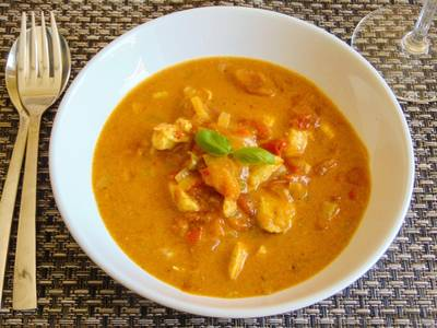 Mid-Week Coconut Chicken Curry