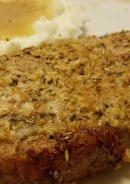 Rosemary Parmesan Pork Chops