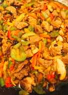 Lean Diced Beef stir fry