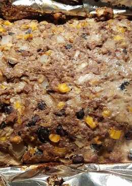 Gluten-Free Black Bean + Turkey Meatloaf