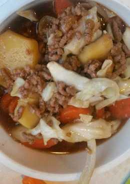 Bulgogi Sauce Beef Stew