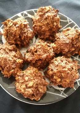 Healthy Vegan Almond Joy Inspired Cookie Balls