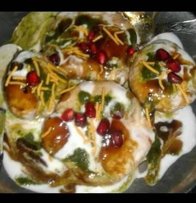 Dahi bhalla chaat
