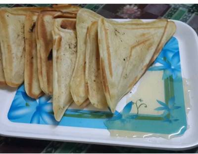 Banana Pancake Sandwiches...#healthy junior