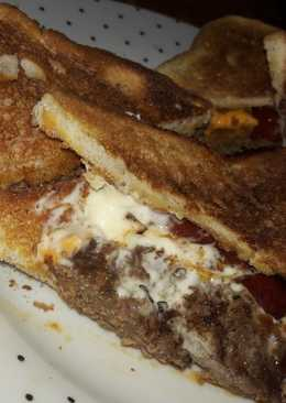 Sloppy Homestyle burger sambo