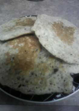 Vegan Mounds Pancakes, first way