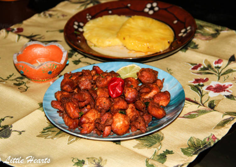 Restaurant Style Dry Chicken 65 Recipe By Little Hearts Cookpad India