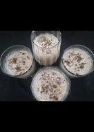Hot chocolate shake