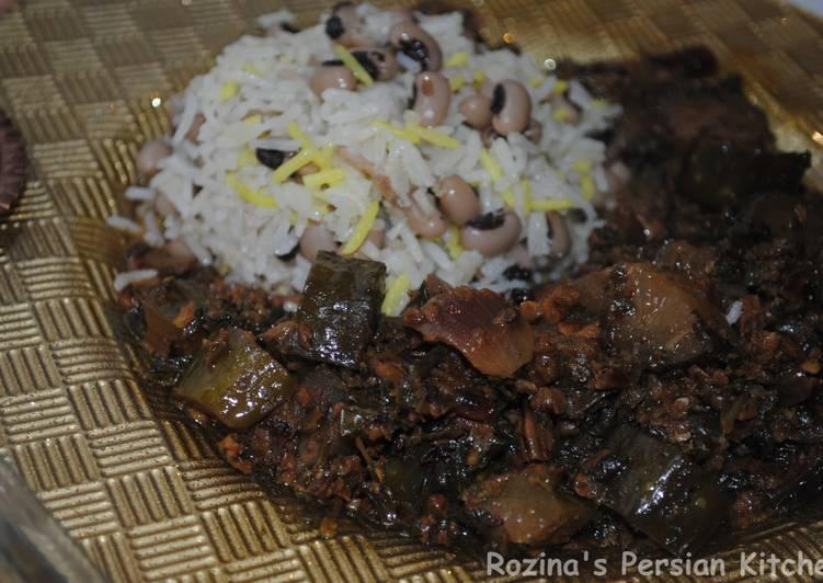 Persian cucumber stew
