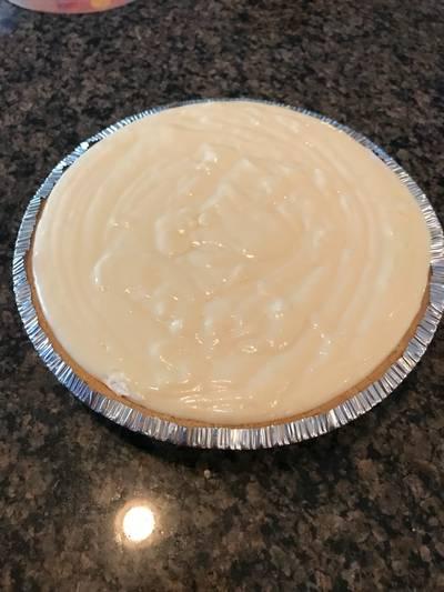 No bake cheesecake pie