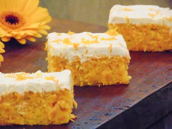 Carrot & Orange Polenta Cake