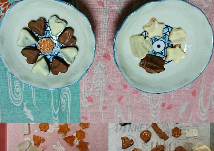 Valentine Chocolate Kohakuto Recipe Recipe By Bonza Japanese Cooking