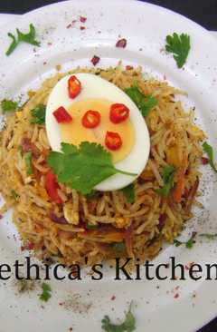 resep masakan chinese egg fried rice