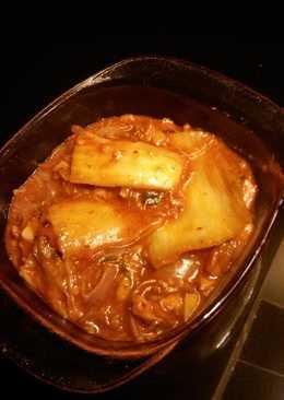 Canned Sardine with a Kimchi Twist